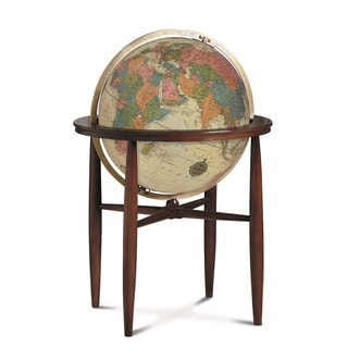 Finley Illuminated Floor Stand Antique Globe