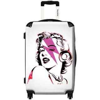 Murano by iKase Marilyn Forever 24-inch Hardside Spinner Upright Suitcase