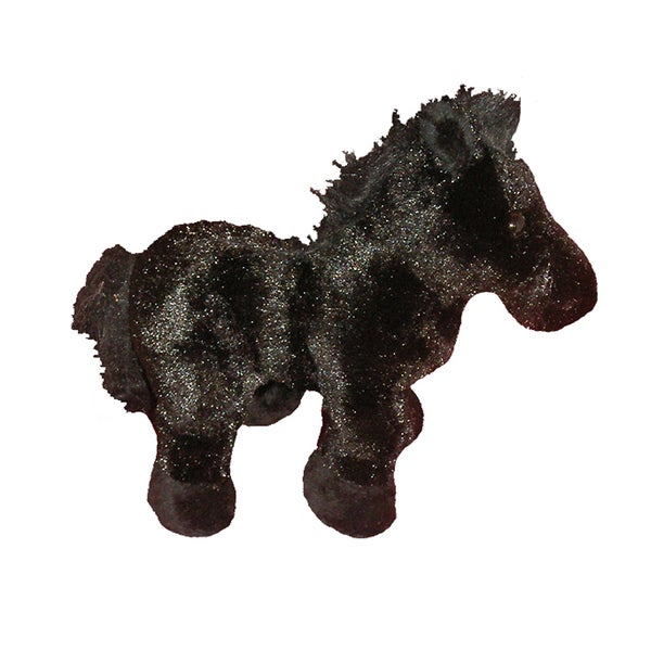 Webkinz Large Black Stallion Plush Animal