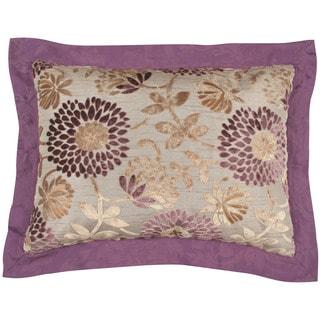 Purple Floral Standard Shams (Set of 2)