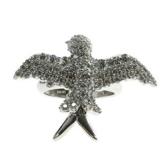 Michael Valitutti Cubic Zirconia 'Bird' Ring
