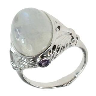 Dallas Prince Sterling Silver Moonstone Ring