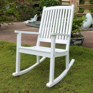 International Caravan Royal Fiji Acacia Rocking Chair