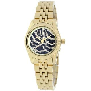 Michael Kors Women's MK3300 Petite Lexington Goldtone Watch