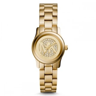 Michael Kors Women's MK3304 Petite Runway Goldtone Watch