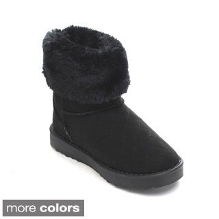 Via Pinky Coco-24F Kid's Big Girls Snow Boots