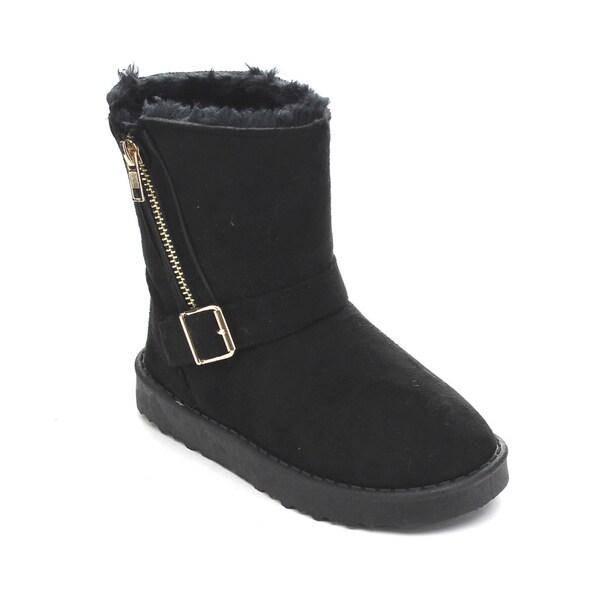 Via Pinky Coco-23F Kid's Big Girls Snow Boots