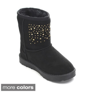Via Pinky Coco-21F Kid's Big Girls Snow Boots