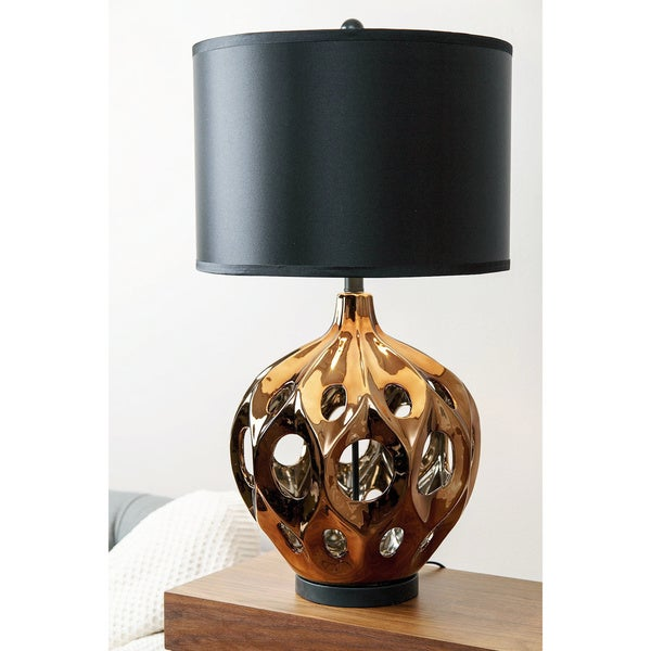 ABBYSON LIVING Eva Ceramic Large Table Lamp
