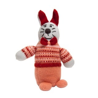 Sitara Collections Handmade Plush Bunny (India)