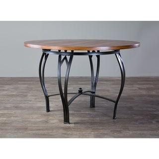 Baxton Studio Mirabella Wood/ Metal Contemporary Dining Table