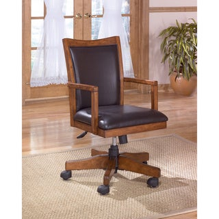 Cross Island Home Office Swivel Desk Chair