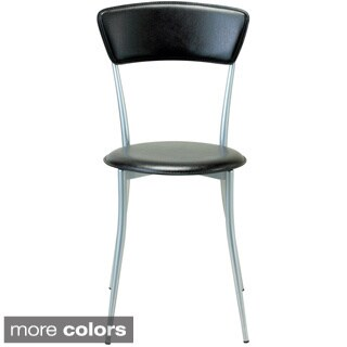 Cafe Wood and Metal Chair