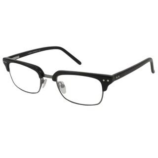 V Optique Men's Leonardo Rectangular Reading Glasses