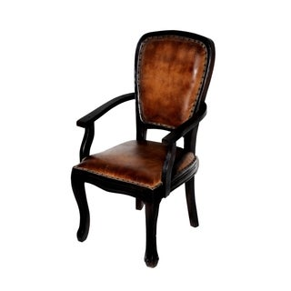 True Leather Napa Arm Chair