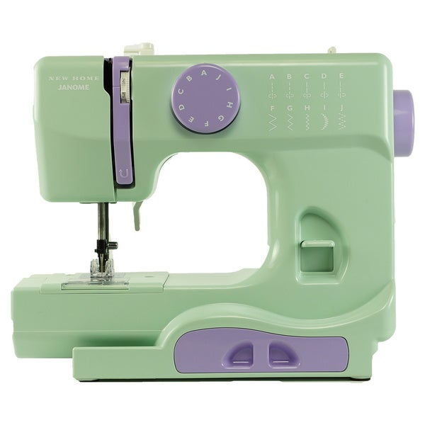 Janome Mystical Mint Portable Sewing Machine - Overstock ...