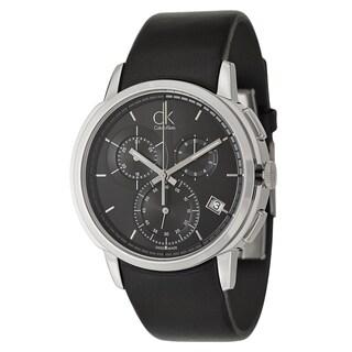 Calvin Klein Men's 'Drive' Stainless Steel Swiss Quartz Watch