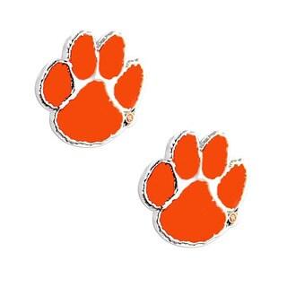 NCAA Clemson Tigers Post Stud Earring Charms