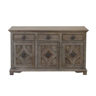 Christopher Knight Home Khetri Smoke Grey Three Drawer Three Door Sideboard