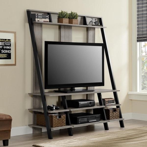 Altra Sonoma Oak Ladder Style Home Entertainment Center