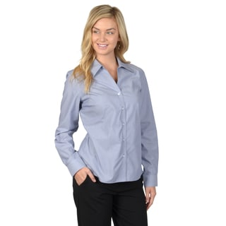 Journee Collection Women's Long Sleeve Button-up Shirt