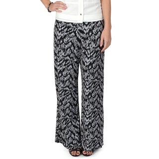 Journee Collection Women's Drawstring Waist Wide Leg Palazzo Pants