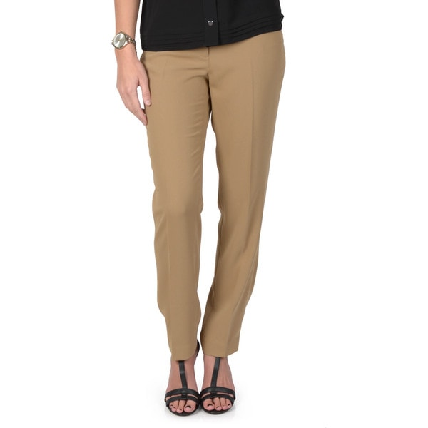 Journee Collection Women's Skinny Leg Trouser