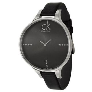 Calvin Klein Women's 'Glow' Stainless Steel Swiss Quartz Watch