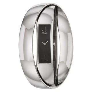 Calvin Klein Women's 'Element' Stainless Steel Swiss Quartz Watch