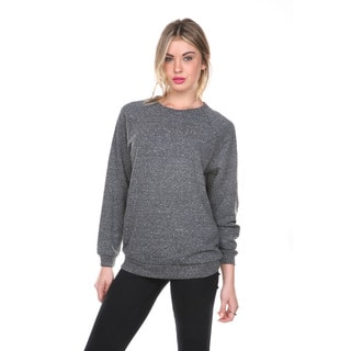 Stanzino Women's Grey Studded Long Sleeve Sweater