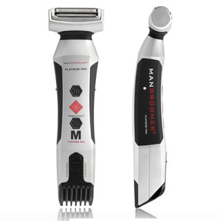 Mangroomer Platinum Pro Body Groomer with Shock Absorber Flex Neck