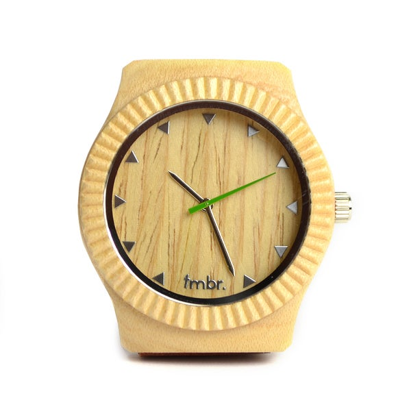 The Arbor Men's ARBR-MP Maple Wood Watch