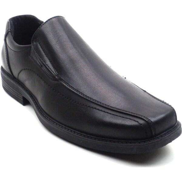 """Blue Men's """"Nelson"""" Black Loafer Shoe"""