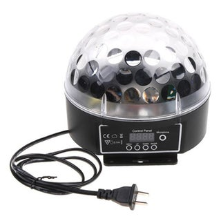 LED Concepts 6-light Crystal Magic Ball Light