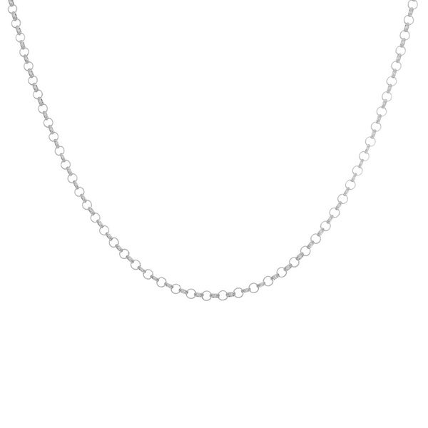 Sterling Essentials Sterling Silver Rolo Chain Necklace