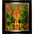 Justyna Kopania 'Rain' Framed Canvas Print