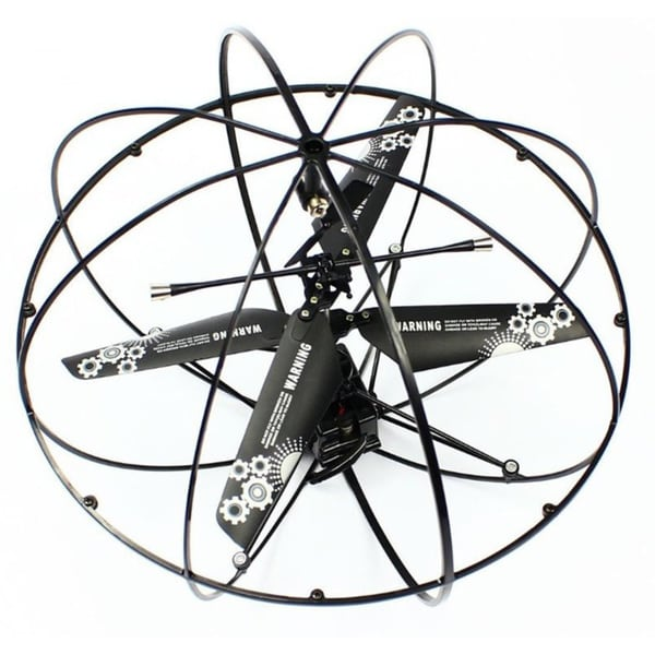 Robotic UFO 3-Channel I/R Flying Ball RC Helicopter