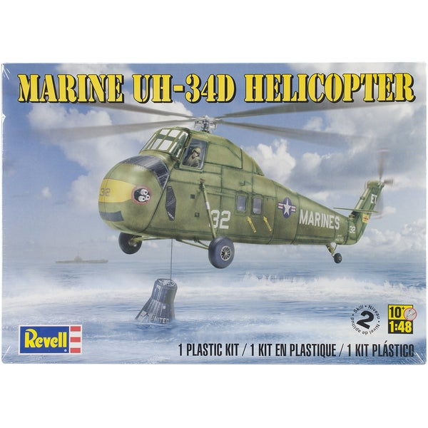 Plastic Model Kit-Marine UH-34 D Helicopter 1/48