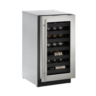 U-Line 3000 Series 3018WC 18 Inch Stainless Steel Wine Captain