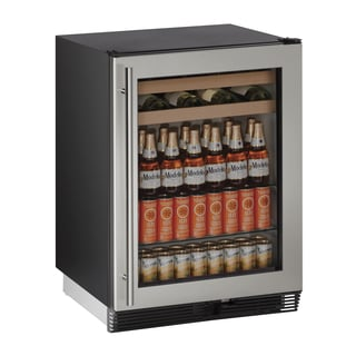 U-Line 24-inch Stainless Beverage Center