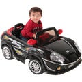 Best Ride On Cars Black Convertible Ride-on Car