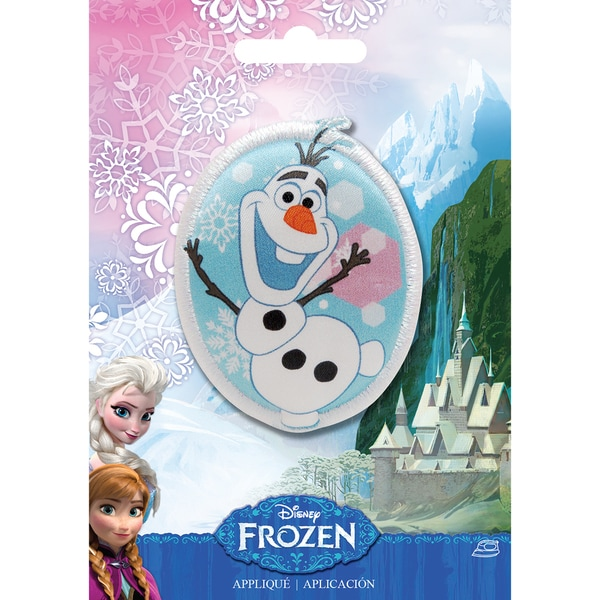 Disney Frozen Iron-On Applique-Olaf