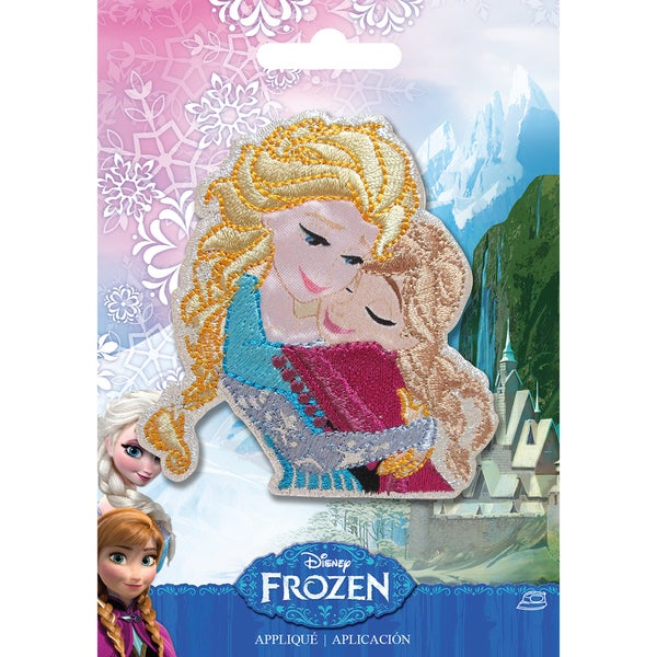 Disney Frozen Iron-On Applique-Sisters