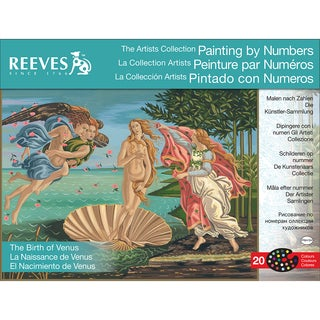"""Paint By Number Kit Artist's Collection 12""""X16""""-The Birth Of Venus"""