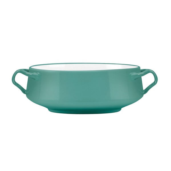 Lenox Kobenstyle Teal Serving Bowl
