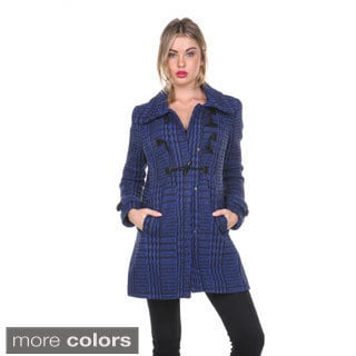 Stanzino Women's Knit Toggle Coat