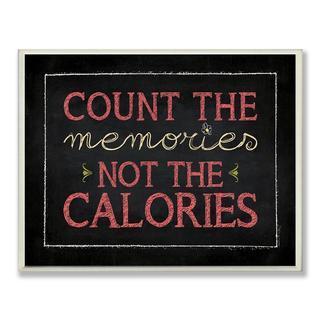 Count The Memories Chalkboard