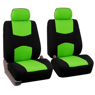 FH Group Green Front Bucket Seat Covers (Set of 2)