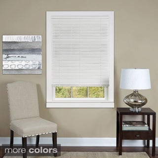 Cordless Deluxe Sundown 1-inch Room Darkening Window Mini Blind