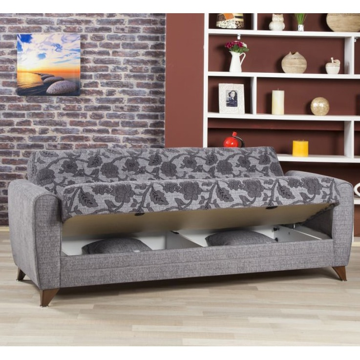 Anatolia Convertible Futon Sofa Bed with Storage ...